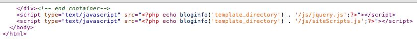 javascript文件放在底部