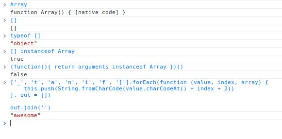 jquery indexof用法_有趣的JavaScript原生数组函数